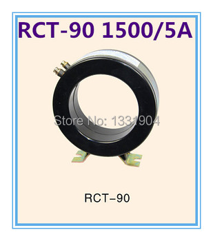 RCT-90 1500/5A small current transformer low voltage high accuracy Torodial transformers,Class 0.5,1.0