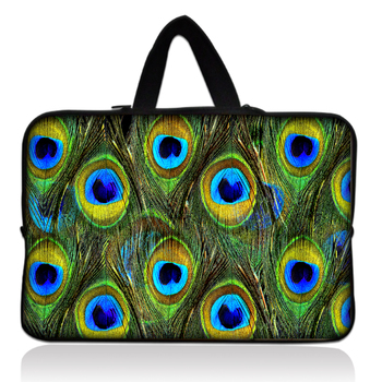 "With Tracking Number Peacock 17"" 17.3"" Inch Laptop Notebook Carry Case Bag Pouch Sleeve Cover"